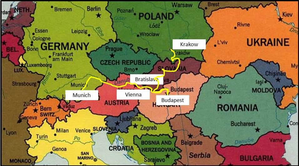 ... Germany, Austria, Hungary, ...